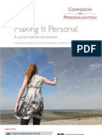 Making It Personal - Commission on Personalisation[1]