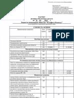 Расчет размера собственных средств на 31 марта 2010 года