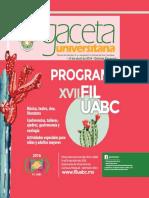 Programa XVII FIL UABC 2016
