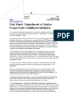US Department of Justice Official Release - 01722-06 opa 081