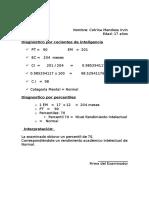 Calificacion del test de Raven- INFORME.doc