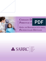Dental Information Guide- Dental Professionals- Spanish Version