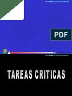 TAREAS CRITICAS
