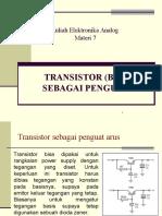 8 Transistor Sebagai Penguat