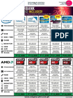 Computer Parts and Accessories Price List