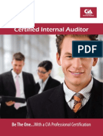 Certified Internal Auditor (CIA) Sunway TES