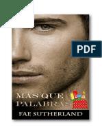 Fae Sutherland - Más que Palabras