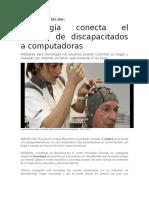 Tecnología Conecta El Cerebro de Discapacitados a Computadoras