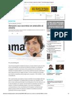 Amazon_ Sus Secretos en Atención Al Cliente - Revista Estrategia & Negocios
