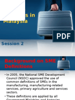 Session 2 - Small Medium Business in Malaysia
