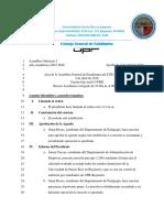 Acta Asamblea Ordinaria 2 UPRB 4-5-2016