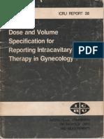 ICRU 38 intracavitarioginecologico