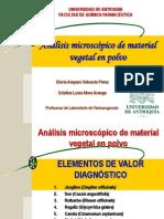 2010-Analisis Microscópico de Material Vegetal en Polvo
