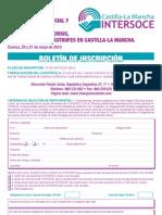 BOLETIN INSCRIPCIÓN JORNADAS. Manual