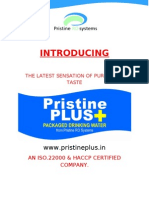 Pristine Plus+ Miniral Water