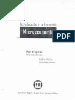cap-1 microeconomia Paul Krugman