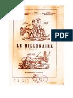 Le Millénaire - Livre du Dr Zimpel - qui fut aussi éditeur de textes de Jakob Lorber
