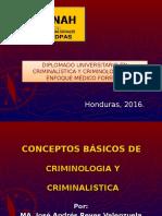 1. Concepto de Criminología y Criminalística