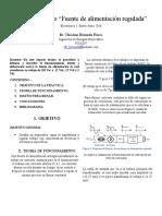 electronica Reporte Fuente materia