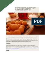 9 Platos Típicos Colombianos Que No Pueden Faltar en Navidad