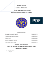 MATERI DISKUSI Tugas Bahasa Indonesia