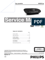Philips AS351 Service Manual, Repair Schematics, Online Download