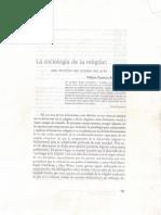 La Sociología de La Religion - William Mauricio Beltrán02032016