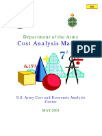 Army Cost Analysis Manual 2001