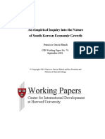 Nature of South Korean Economic Growth[1]