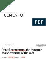 Cementogenesis
