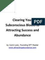 Item4 Life c Look Clear Your Subconscious Blocks to Success