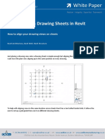 Align View on Drawing Sheets in Revit
