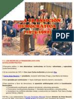 TEMA 12.- TRANSICIÓN Y ACTUAL