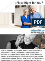 Is Aging in Place Right for You?