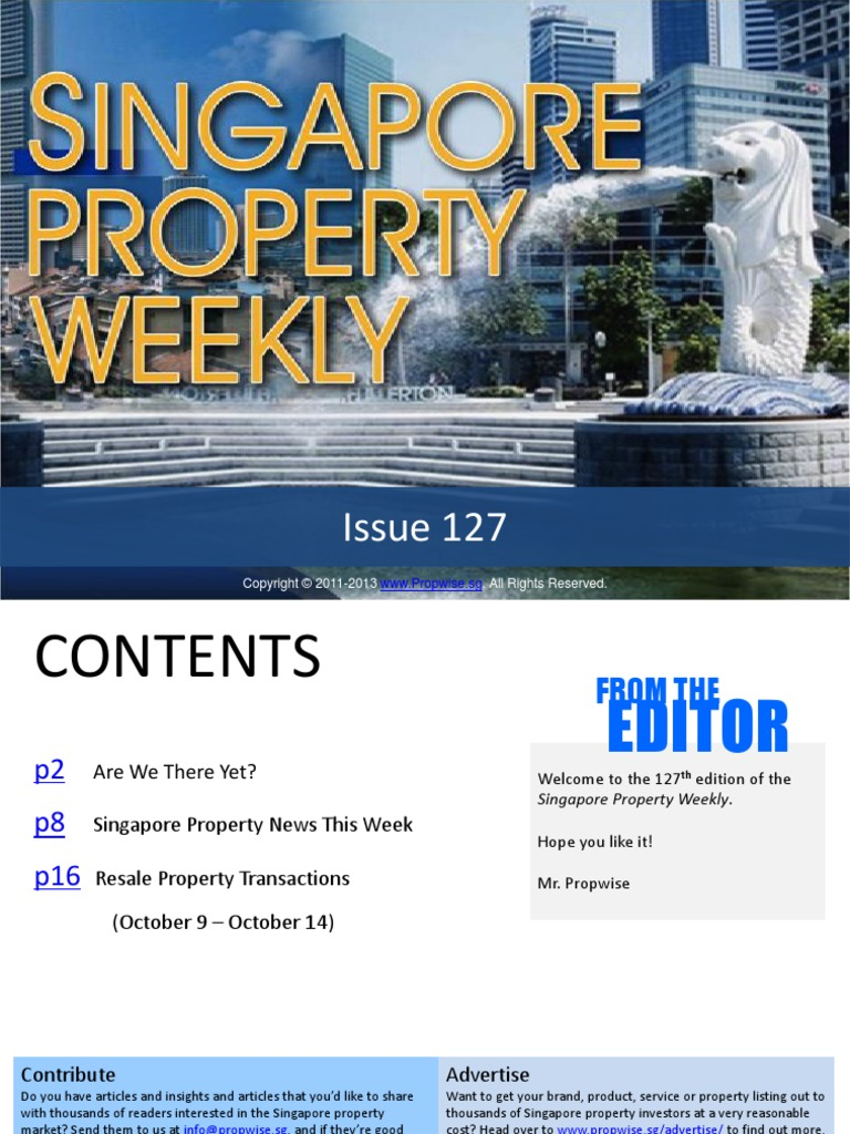 Singapore Property Weekly Issue 127 to 196 pdf | Refinancing