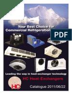 HC Catalog. Evaporators and Condensers