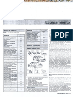 Manual Ford Mondeo 2001 Equipamiento