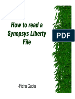 05How to Read a Synopsys Liberty File
