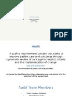 Clinical Audits Academy Dental Hospital 2015