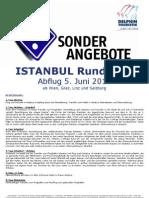 DEL004 ISTANBUL Rundreise Abflug 05.06.2010