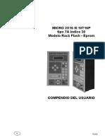 73660441 Micro 2x16 III Flash Epromdescasrgas