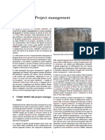Project Management (Italiano)