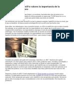Estrategia de inversión valores la importancia de la mentalidad del dinero