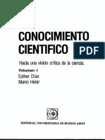 Diaz Heler El Conocimiento Cientifico Vol1