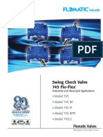 Flowmatic - Swing Check Valve