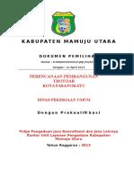09. DPU Perencanaan Pembangunan Trotoar Kota Pasangkayu