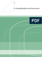 Nordic Energy Markets and Energy