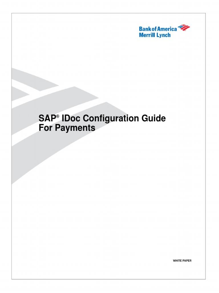 SAP IDOC Configuration Guide