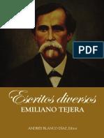 Escritos Diversos, Emiliano Tejera