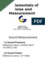 Fundamentals of Sound Measurement-1